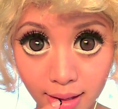 These Baby Doll Contact Lenses Also Known As Big Circle Contacts Are The Latest Trend Among Teenagers And Young Women Were Made